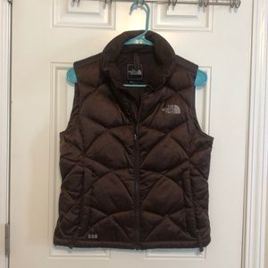 The North Face Jackets & Coats - Brown northface down vest